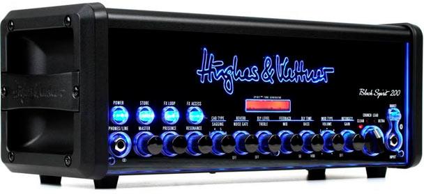 amplificador guitarra hughes and kettner black spirit 200