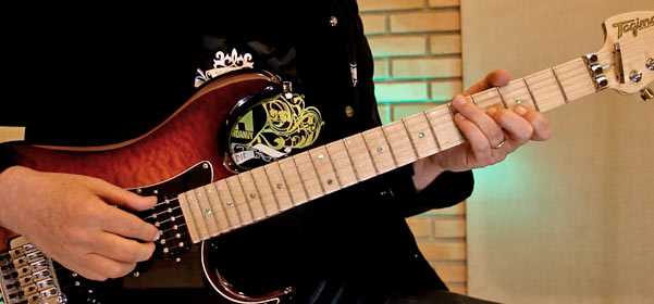 escalas e acordes para improvisar na guitarra