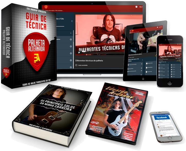 curso completo de tecnica para guitarra e videoaula